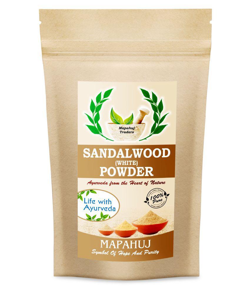 Mapahuj Finishing Powder white sandwood 100 gm Pack of 2