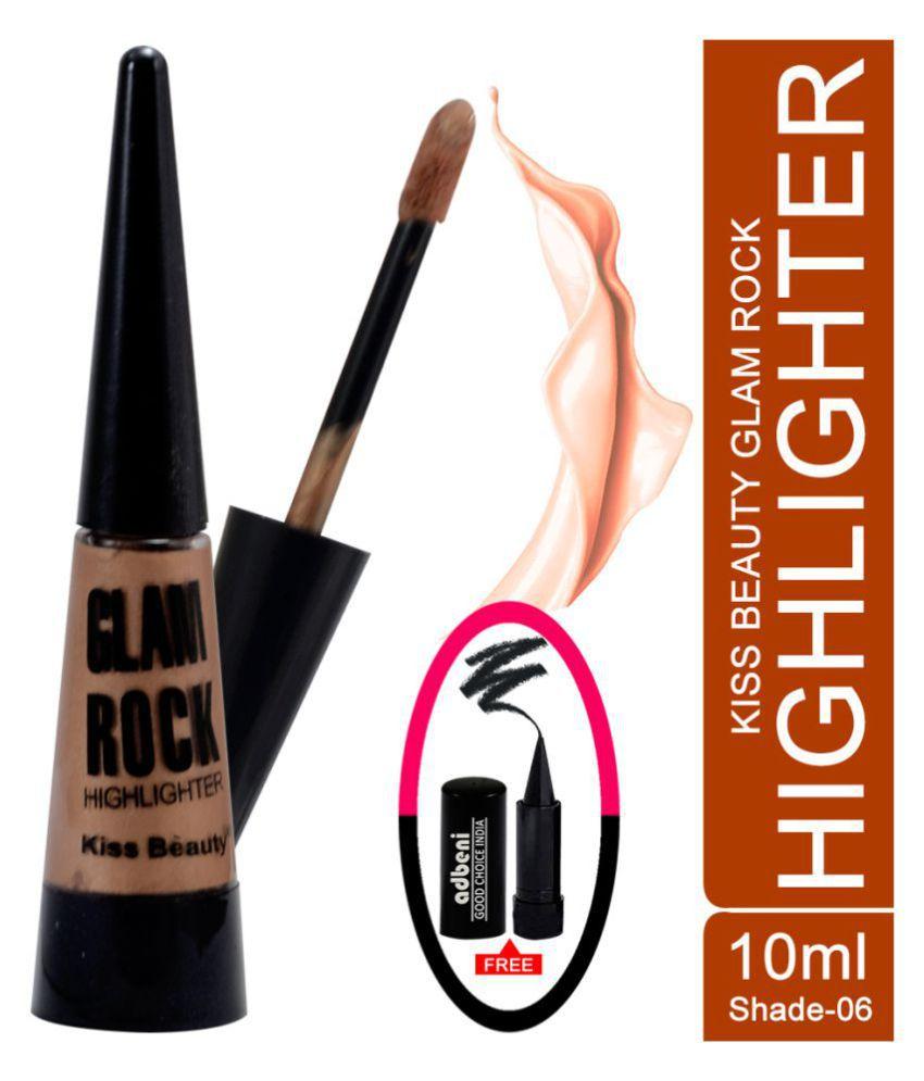 Kiss Beauty Liquid-58622-06 Highlighter Natural Beige 10 ml