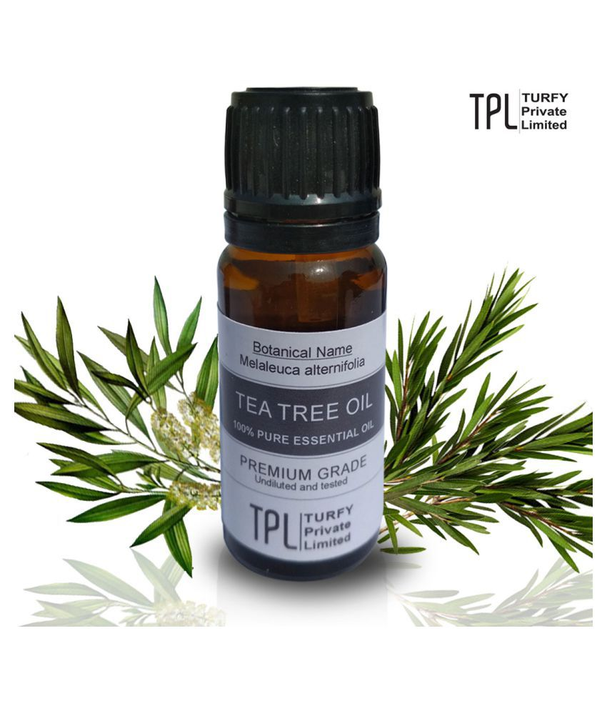 Tea Tree Oil Pure Natural Essential Oil Plant Extract For: Turfy Tea Tree Oil Pure And Natural Essential Oil 10 ML