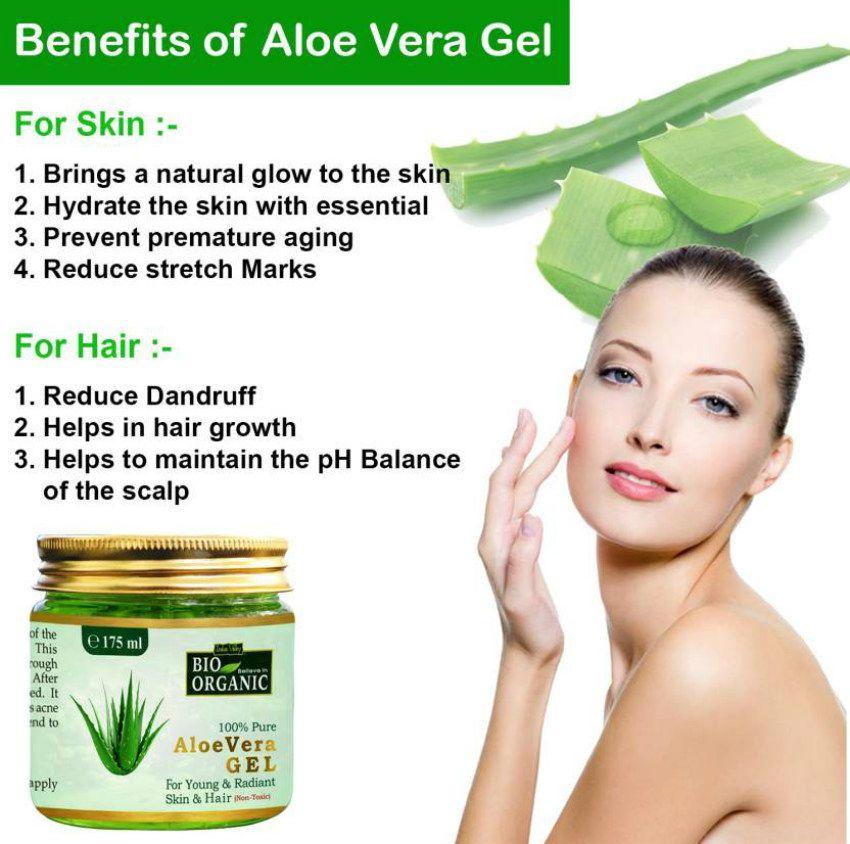 aloe vera gel for pimples