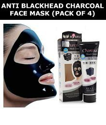 Charcoal Face Mask Anti Blackhead - Pack of 4 (130g Each)