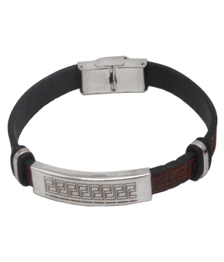 Men Style Brown Alloy Bracelets
