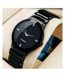 3fa773f5b Black Watches for Women: Buy Black Watches for Women Online at Low ...