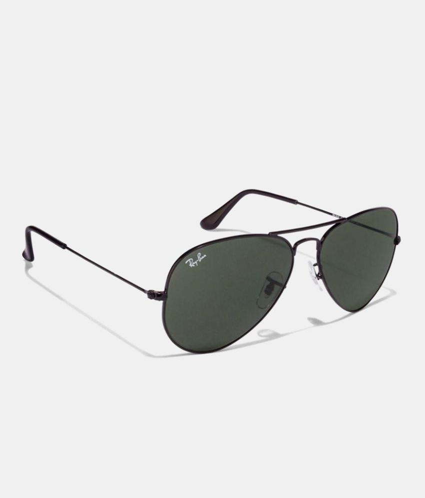 d01482584 A RAY BAN Black Aviator Sunglasses ( 3025 blk ) - Buy A RAY BAN Black Aviator  Sunglasses ( 3025 blk ) Online at Low Price - Snapdeal