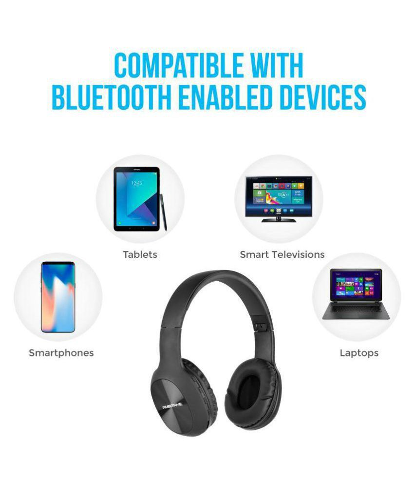 04d649c5e46 Ambrane WH-65 Over Ear Wireless Headphones With Mic - Buy Ambrane WH ...