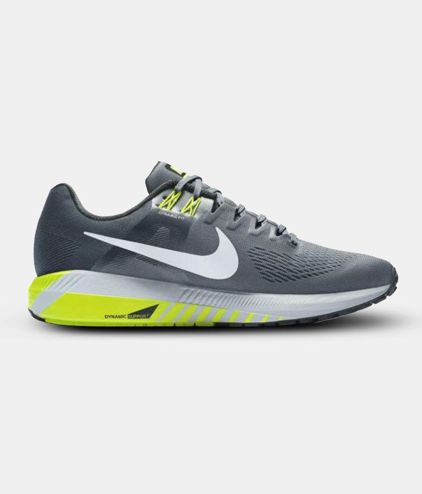 best sneakers ae9c5 9fb82 Nike ZOOM STRUCTURE 21 Grey Running Shoes