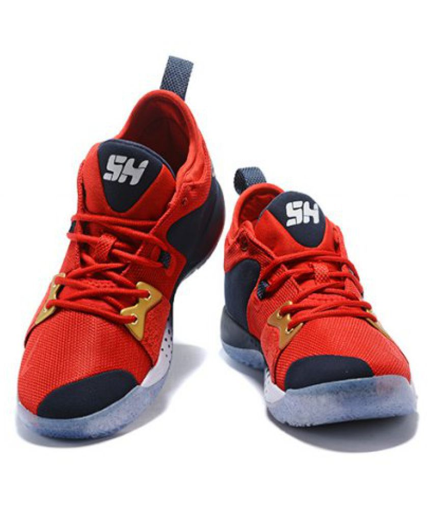 buy popular 09645 c33cc Nike pg 2 red Midankle Male Red