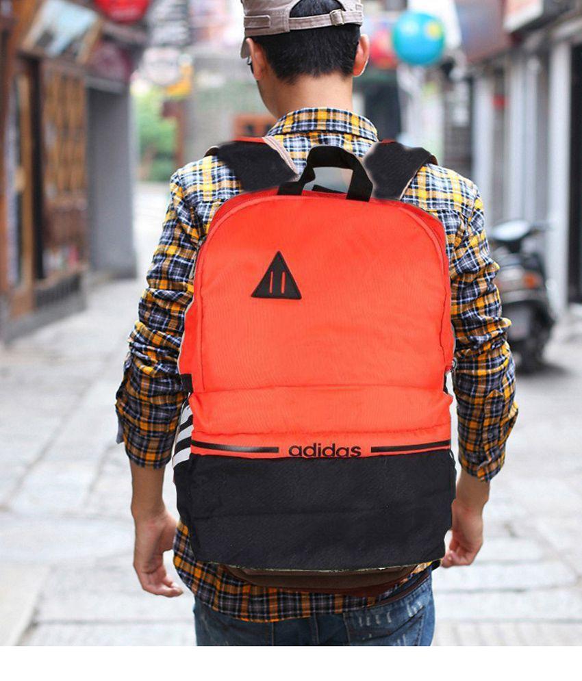 552fff6f640779 Adidas Orange Backpack - Buy Adidas Orange Backpack Online at Low Price -  Snapdeal