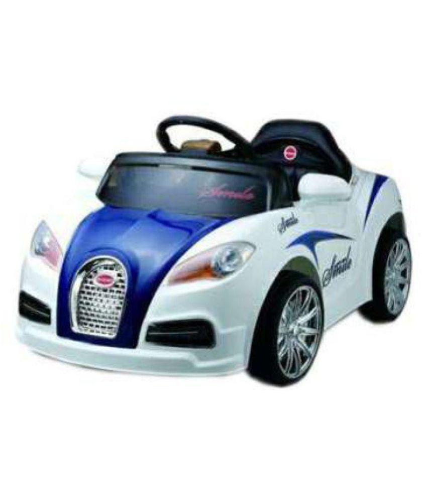 Oh Baby;Baby Battery Operated LED Light Car WHITE Color ...