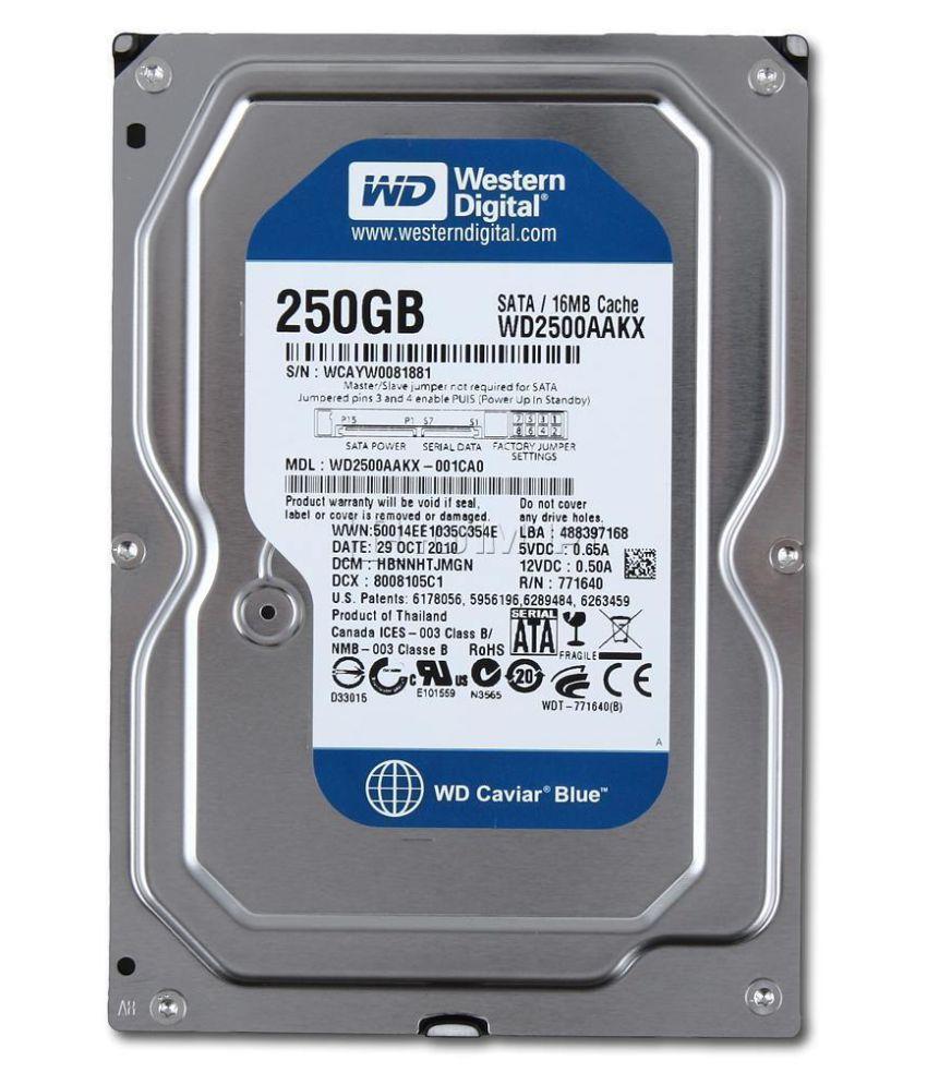 WD REFURBISHED WD2500AAKX 250 GB Internal Hard Drive Internal Hard drive