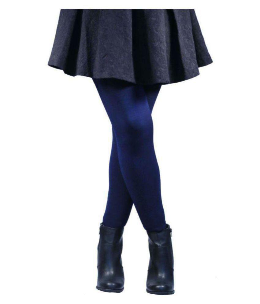 3c86b02734c57 N2S Next2Skin - Warm Tights Fleece Leggings for Winter and Inner Wear -  Black, Skin, Red, Navy Blue, Maroon, Grey, Brown, etc: Buy Online at Low  Price in ...