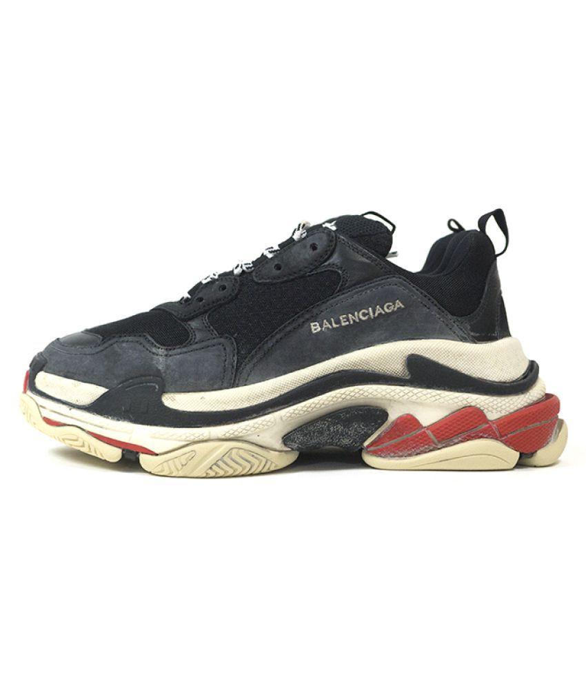 Nike balenciaga Black Training Shoes