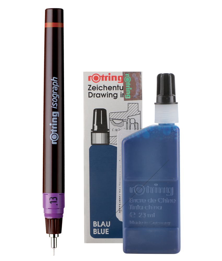 NEW Rotring 0.13mm Isograph Technical ink pen Cheapest price.