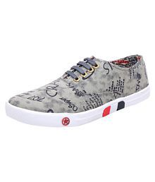 Everrise Shoes Sneakers Gray Casual Shoes