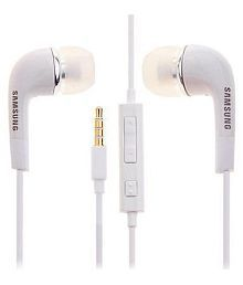 Samsung Galaxy On Max (r) In Earphone Wired Headphone With Mic