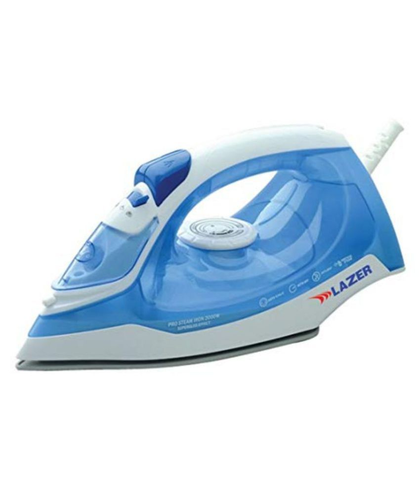 Lazer Jumbo DLX 1800-watts Steam Iron Blue