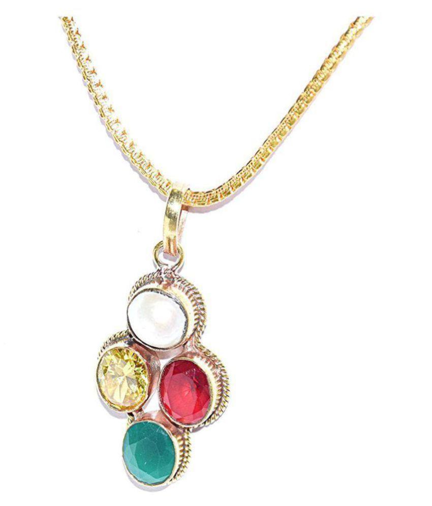 Scorpio Zodiac Gemstone Pendant / Vrishchak Rashi 100% Original semi Precious Gemstone Prosperity Pendant for Unisex