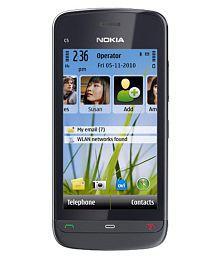 C5-03 NOKIA C5-03 MOBILE ( 256 MB , 256 MB ) Black
