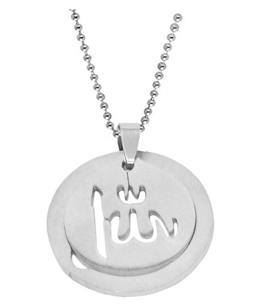 Men Style Silver Stainless Steel Pendants