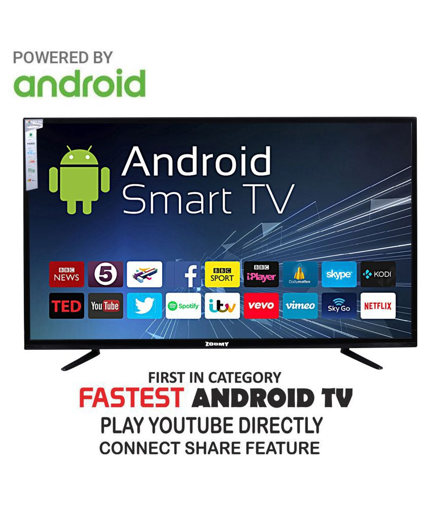zoomy ZO55SMART 140 cm ( 55 ) Full HD (FHD) LED Television