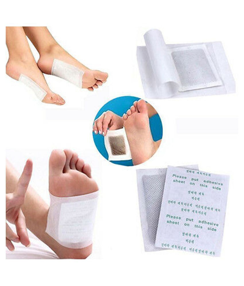 briton Detox Foot Pads Herbal Patches treatment Cleansing M
