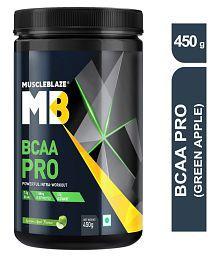 MuscleBlaze BCAA Pro (Green Apple. 30 Servings) 450 gm