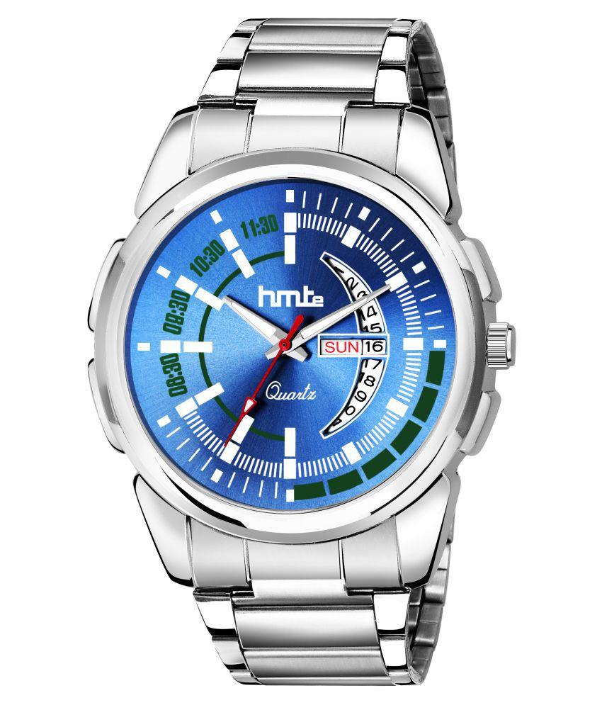 HMTe HM-8075Blue Metal Analog Men's Watch