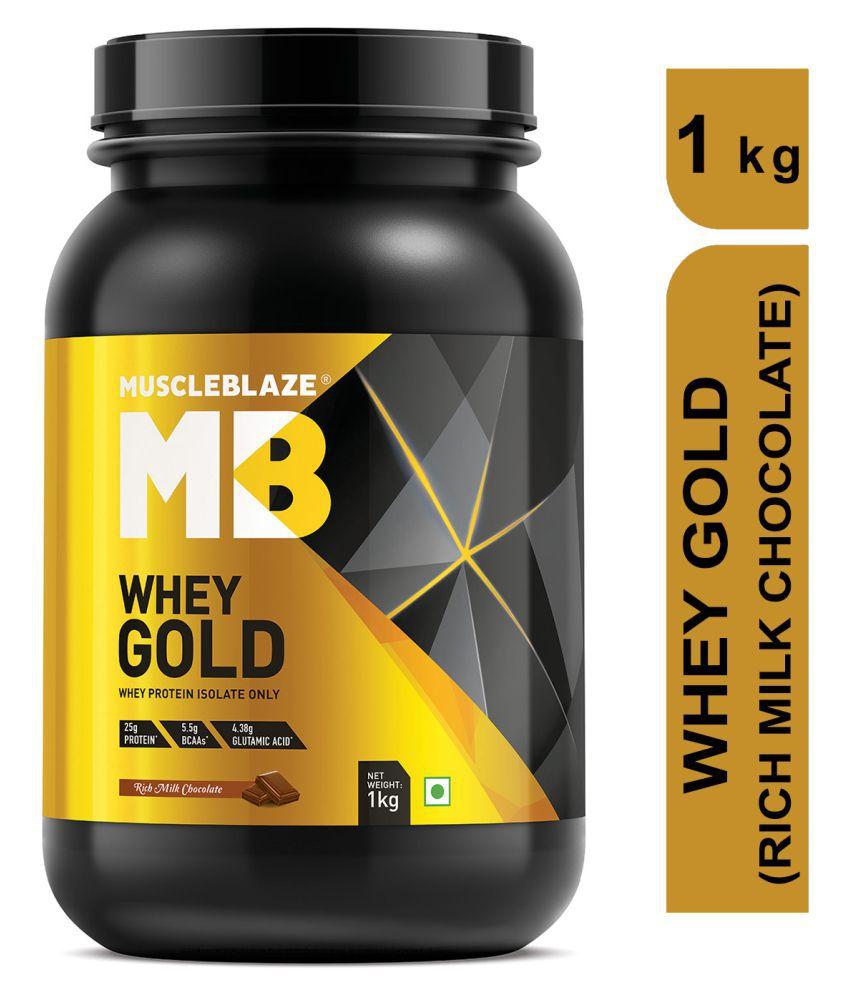 MuscleBlaze Whey Gold Whey Protein 1 kg