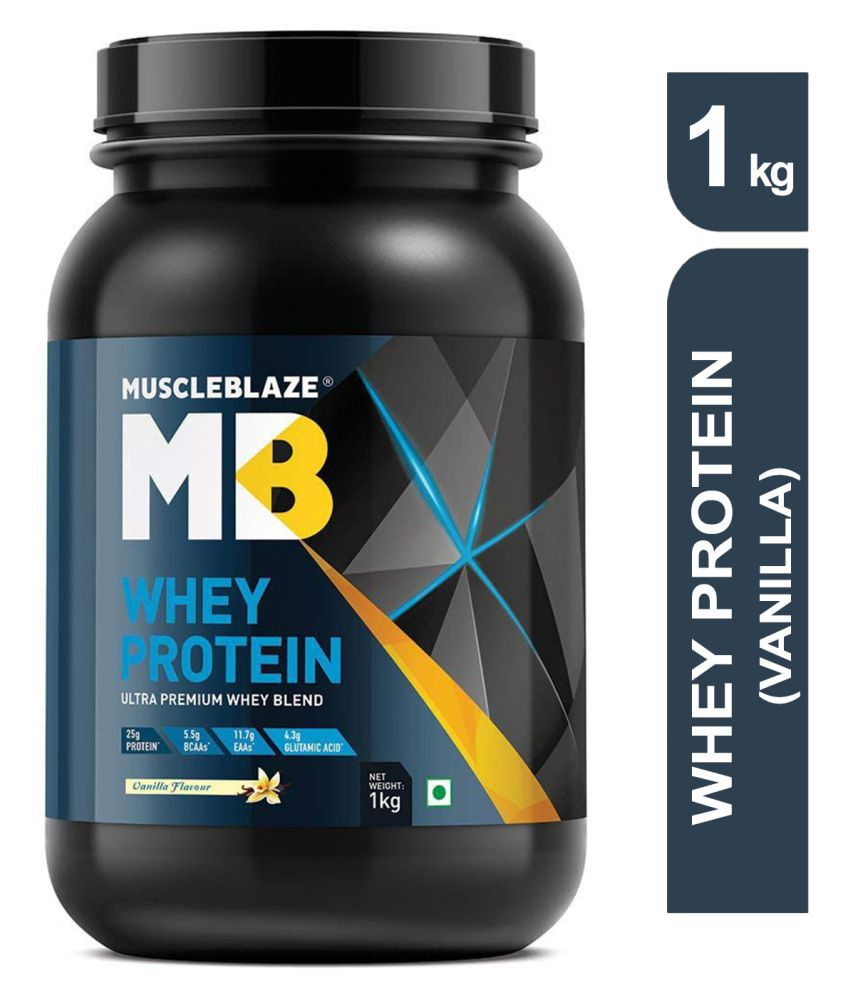 MuscleBlaze Whey Protein 1 kg