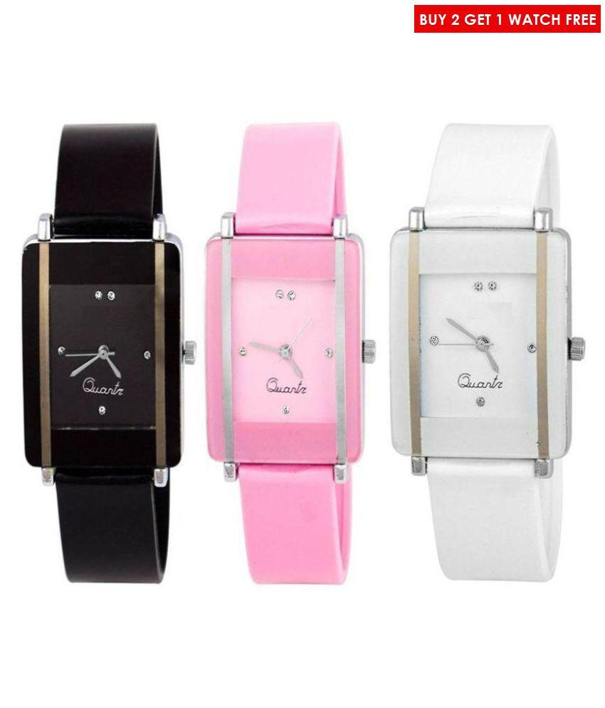 HERITA ENTERPRISES Buy 2 Get 1 Free - Women Watch