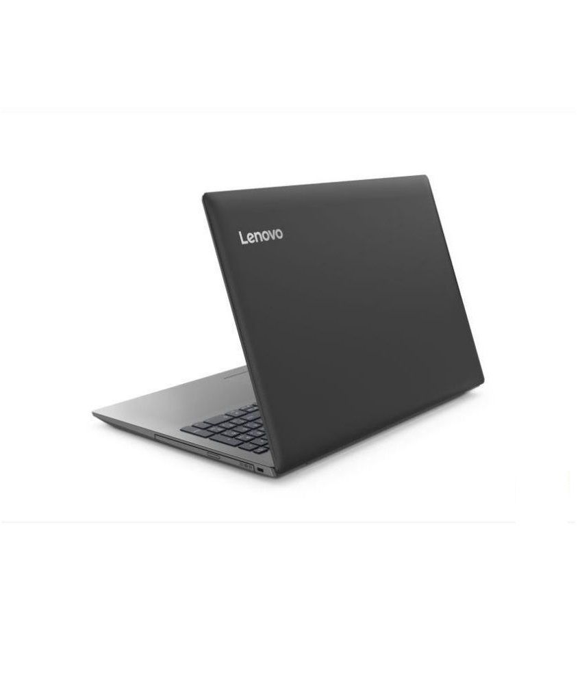 Lenovo Ideapad 330 81D600BXIN (AMD A9 - 9425 / 4 GB RAM / 1 TB HDD / 39 62  cm (15 6 Inch) / DOS / 2 GB Graphics) (Onyx Black , 2 2 Kg)
