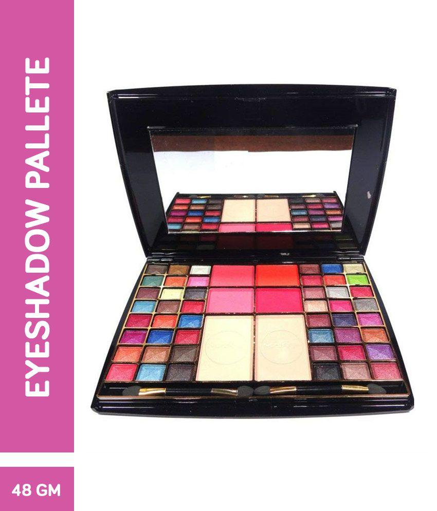Mars 4 + Blusher + 2 Compact Powder 48 Color Eye Shadow Pressed Powder Colours 48 gm