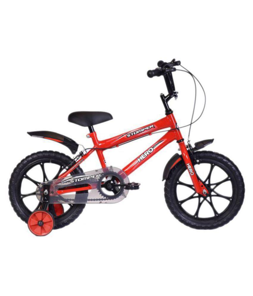 Hero Stomper Red 40.64 cm(16) Road bike Bicycle