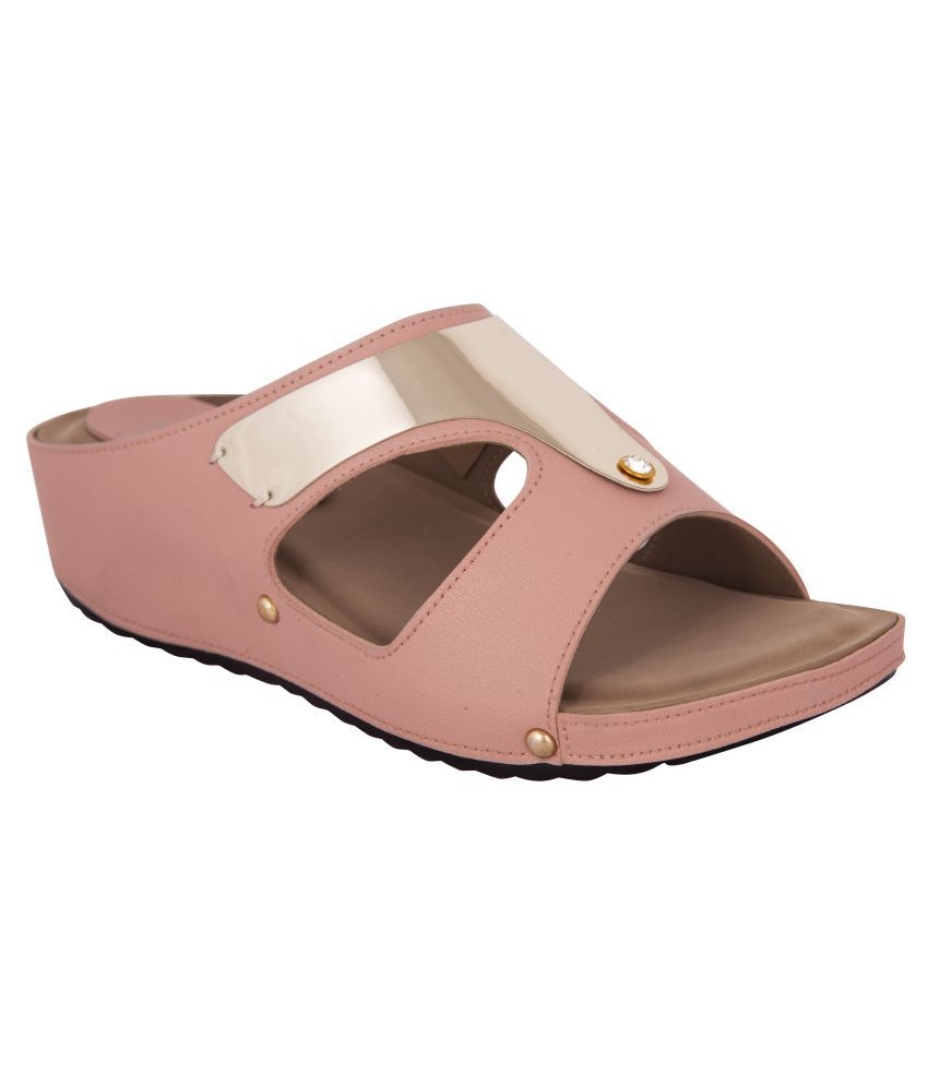Exotique Pink Flats