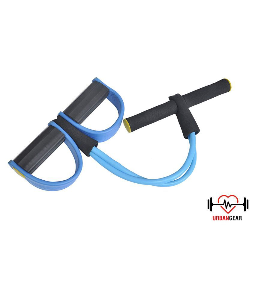 IJARP Pull Reducer Body Tummy Trimmer Ab Builder Home Gym and Waist Reducer Six Pack Abs Pull Exerciser Resistance Tube Ab Exerciser for Lose Waist We