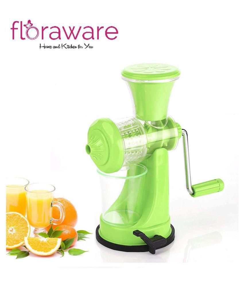Floraware Light Green Fruit & Vegetable Nano Manual Juicer
