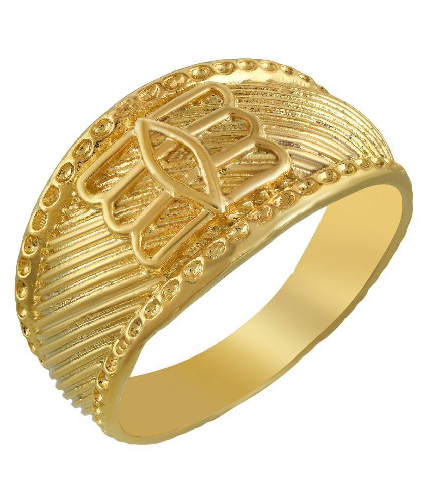 MissMister Gold Alloy Rings