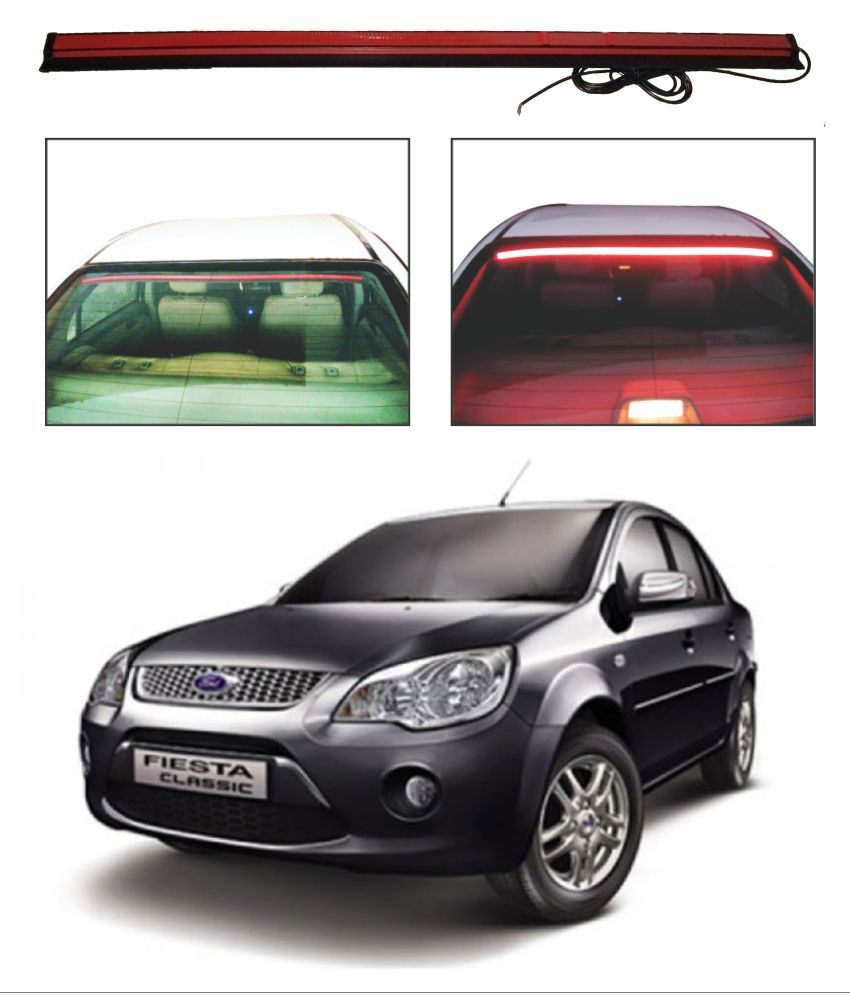 Trigcars Ford Fiesta Old Roof line LED Third Brake Light Kit Above Rear Windshield