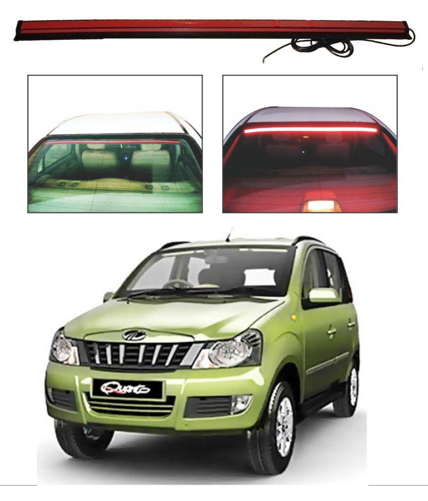 Trigcars Mahindra Quanto Roof line LED Third Brake Light Kit Above Rear Windshield