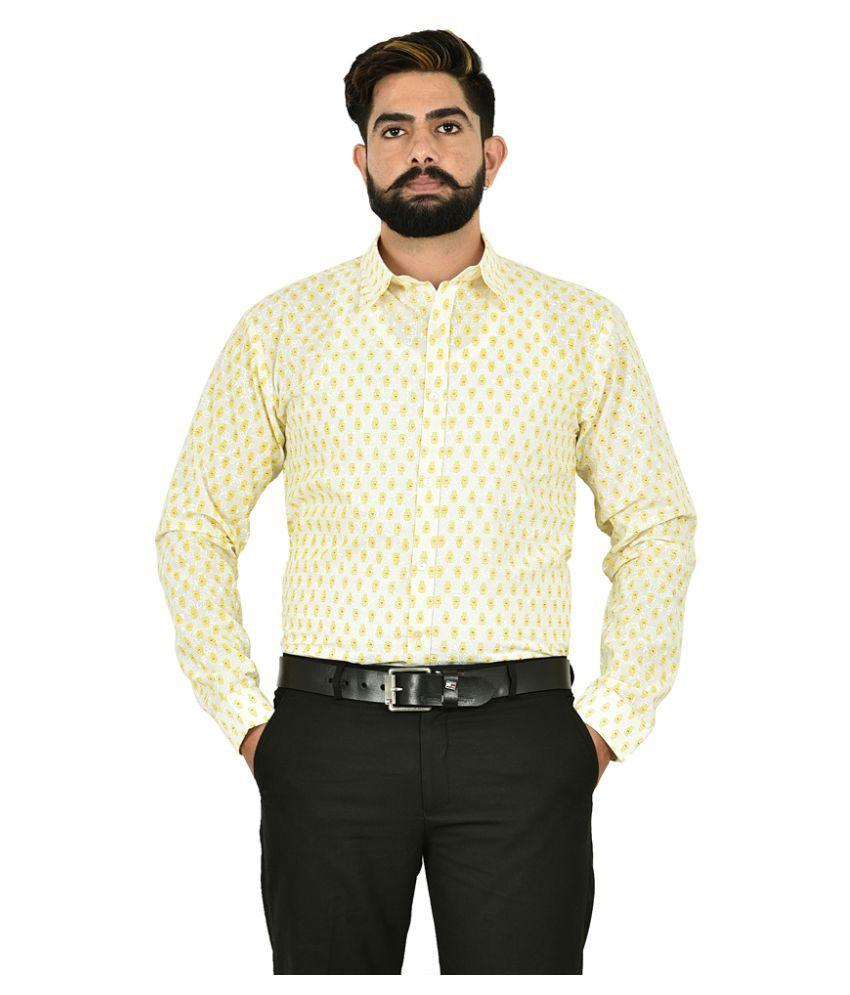 The Fineworld 100 Percent Cotton Multi Prints Shirt