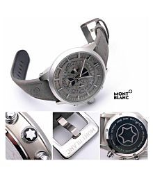 montblnk 1122 Leather Chronograph Men's Watch