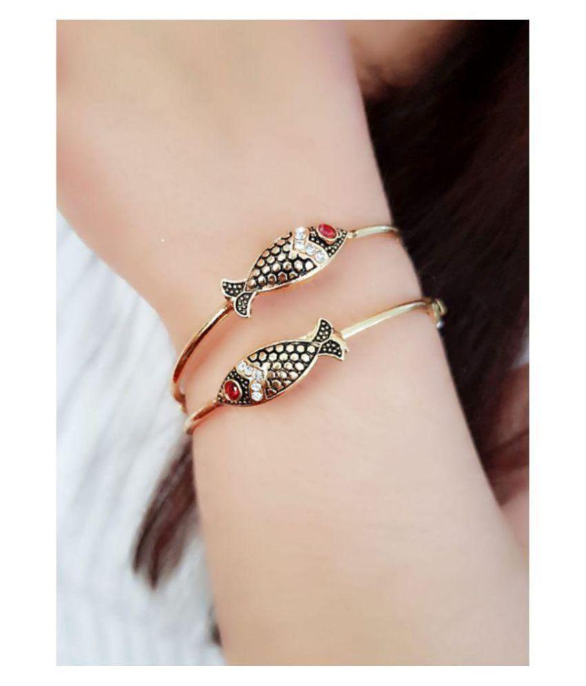 Darshini Designs fish designs Bangles/bracelet set for women (2.6)
