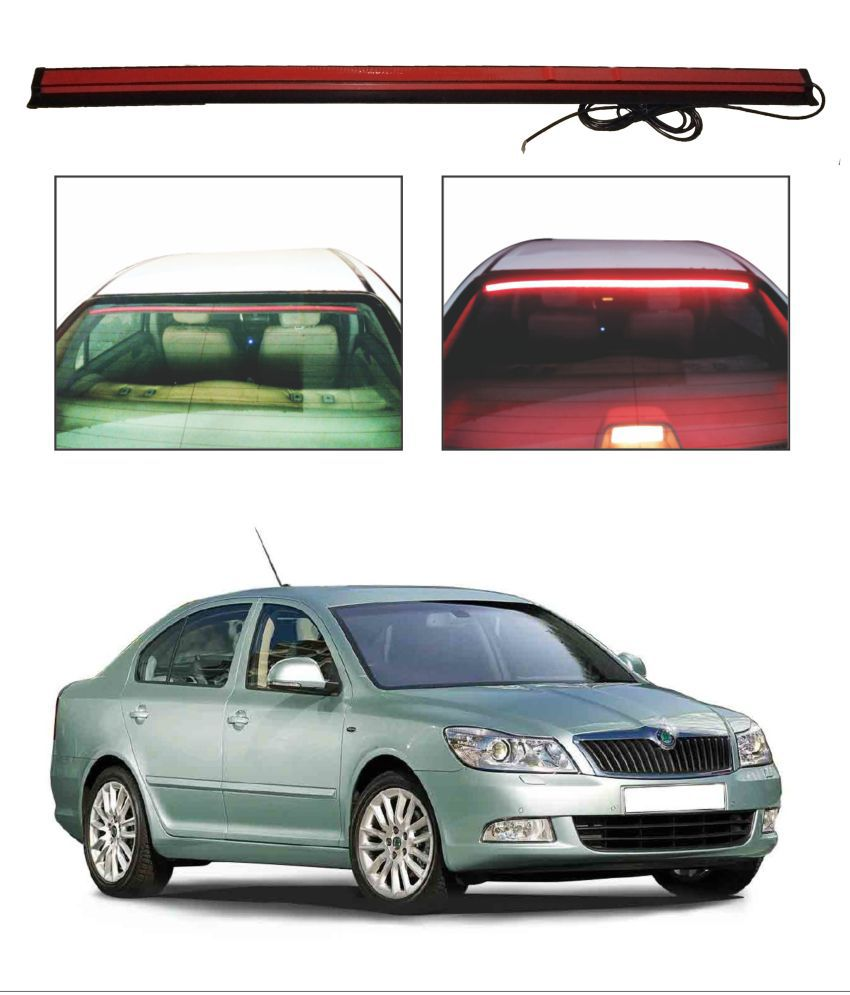Trigcars Skoda Laura Roof line LED Third Brake Light Kit Above Rear Windshield