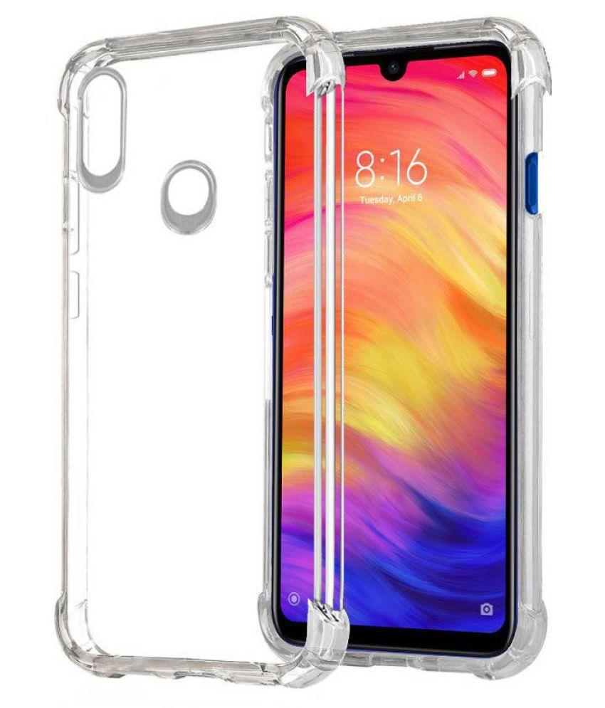 Xiaomi Redmi Note 7 Pro Plain Cases Tech Attires - Transparent
