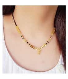 Mangalsutras Upto 85% OFF: Buy Gold Plated Mangalsutras Online