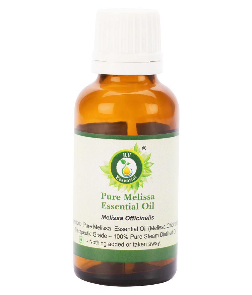 R V Essential Pure Melissa Essential Oil Essential Oil 30 mL