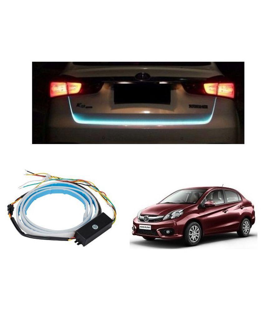 Trigcars Honda Amaze New Car Tailgate LED Strip Light