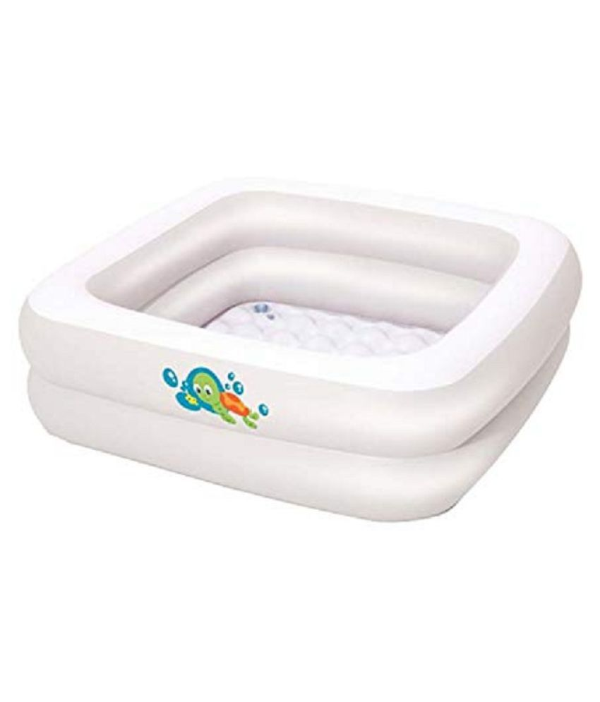 crazy toys Inflatable Baby Bath Tub for Home and Travel - High Quality Anti-Slippery Durable and Safe Kiddie Pool Bathtub for Kids Toddlers