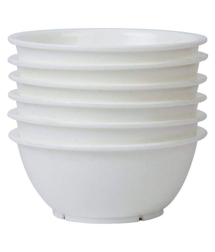 Everbuy Plastic Mixing Bowl 6 Pc