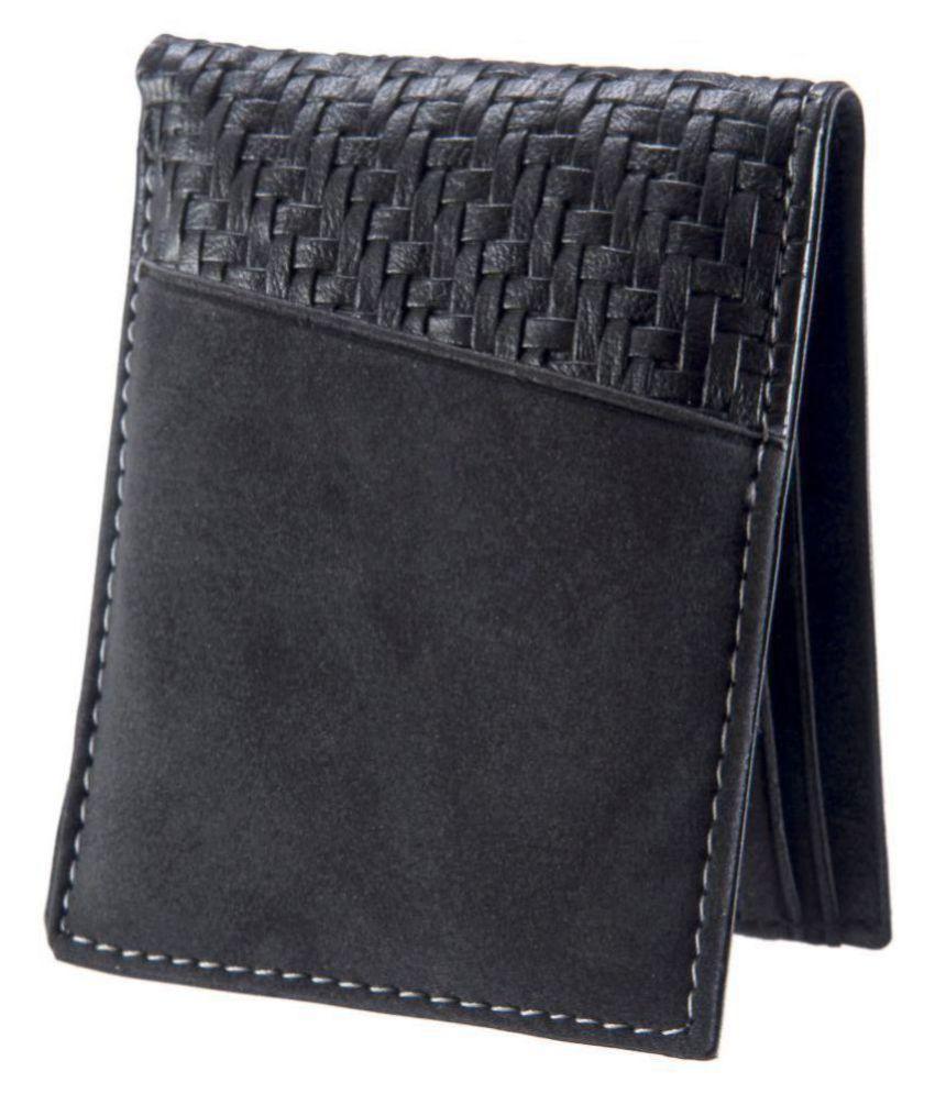Heritage Opulence Leather Black Fashion Regular Wallet